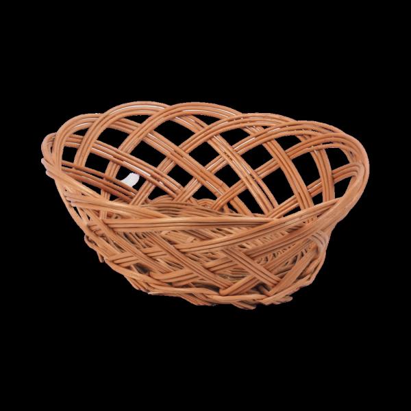 Tacka ażurowa (Owalna/25cm) - sklep z wiklina - zdjęcie