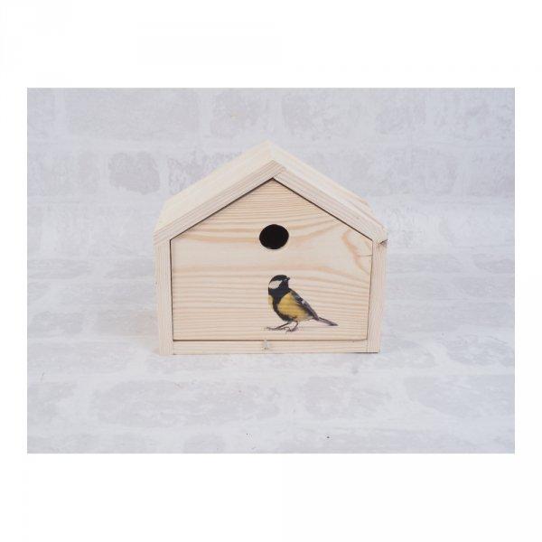 Budka lęgowa dla ptaków (Ptak 4/Duża) - sklep z wiklina - zdjęcie 1
