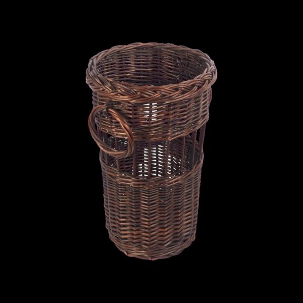 Kosz na parasole (Ażur/Wenge ) - sklep z wikina - zdjęcie 1