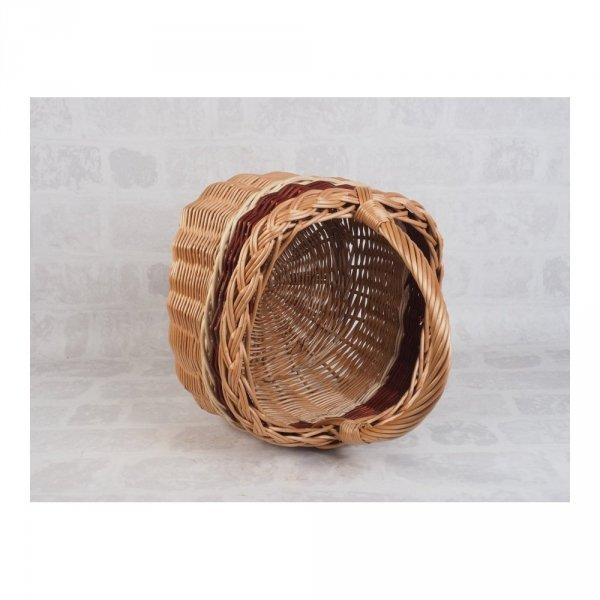 Kosz na zakupy (Kwadrat) sklep z wiklina - zdjęcie 2