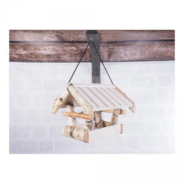 Karmnik dla ptaków (Kolor/Brzoza/Średni) - sklep z wiklina zdjęcie 5