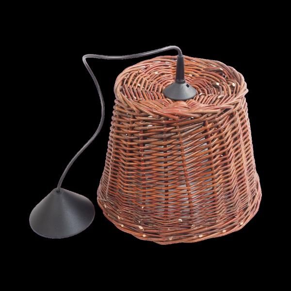 Żyrandol (40cm) - sklep z wiklina - zdjęcie