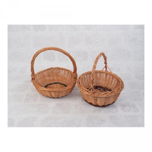 Koszyczek Wielkanocny (okrągły) - sklep z wiklina - zdjęcie 2