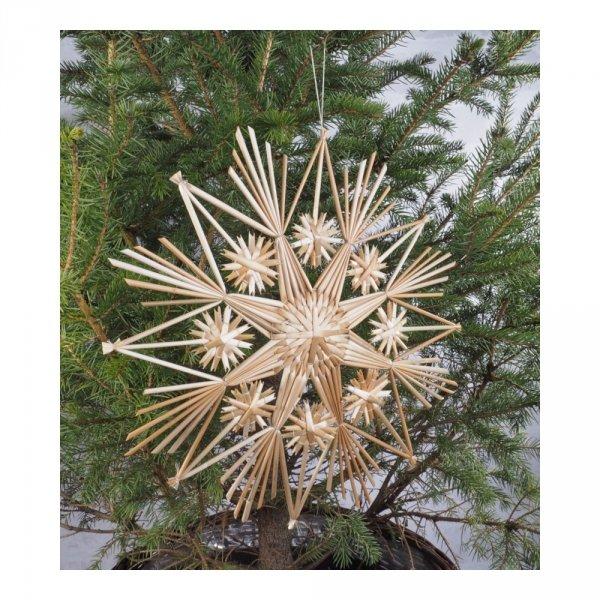 Gwiazda słomiana (komplet 5 sztuk) - sklep z wiklina - zdjęcie 1