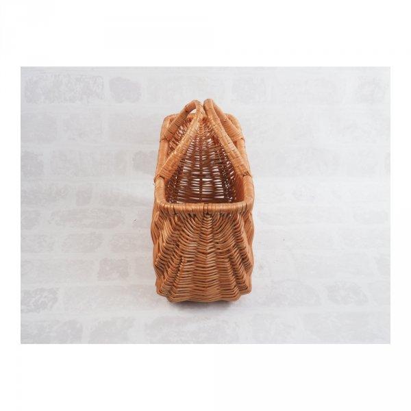 Kosz na zakupy (San 30 cm) - sklep z wiklina - zdjęcie 3