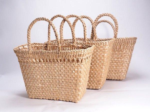 Kosz na zakupy - torba plażowa (Rafia/40cm) - sklep z wiklina - zdjęcie