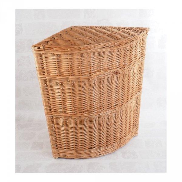 Kosz na ubrania (narożny/45cm) - sklep z wiklina - zdjęcie 1