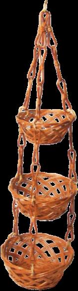 Tacka Kuchenna Wisząca (Ażurowa/3D) - sklep z wiklina - zdjęcie