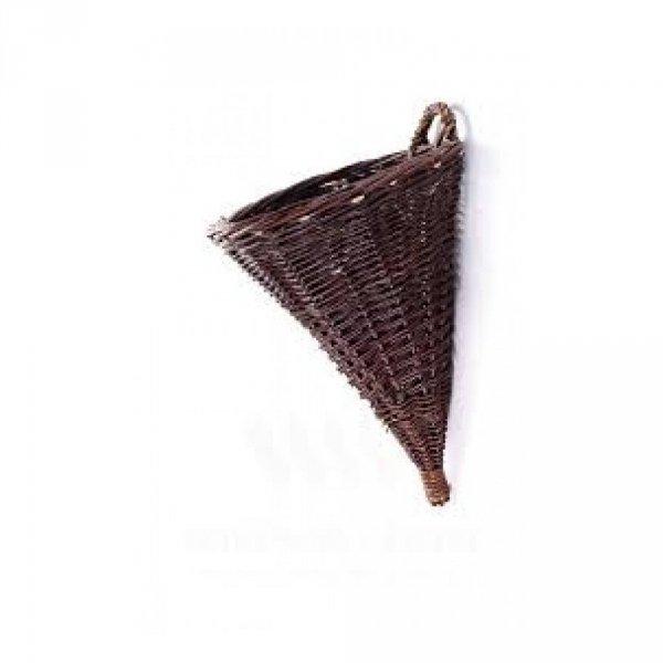 Osłona na donicę (stożek/35 cm) - sklep z wiklina - zdjęcie