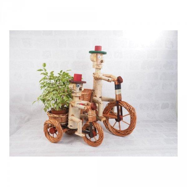 Osłonka na doniczkę - dekoracja (Chłopek/Duży) - sklep z wiklina - zdjęcie 4