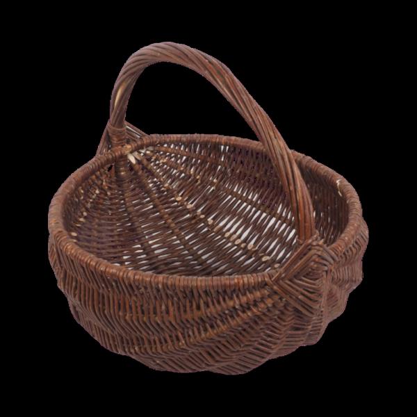 koszyk gospodarczy (baniak/25cm) - sklep z wiklina - zdjęcie