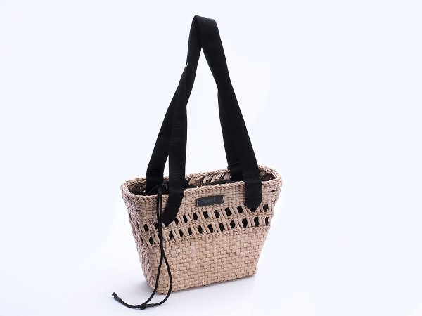 Kosz - torba plażowa (Rafia/Wkład) - Sklep z wiklina - zdjęcie