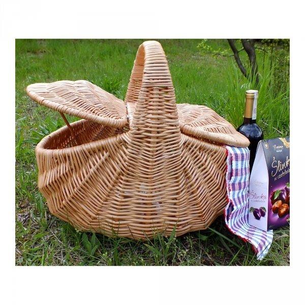 Kosz piknikowy (Indonezja) - sklep z wiklina - zdjęcie 3