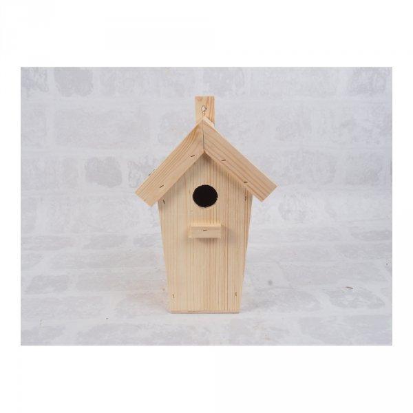 Budka lęgowa dla ptaków (papa/czarna) - sklep z wiklina - zdjęcie 1