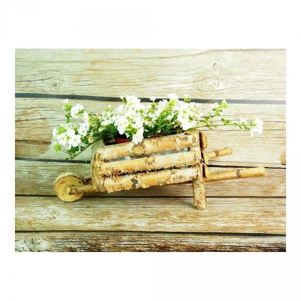 Donica brzozowa (taczka) - sklep z wiklina - zdjęcie 3