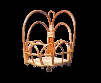 kwietnik wiszący (Narożny/1D) - sklep z wiklina - zdjęcie