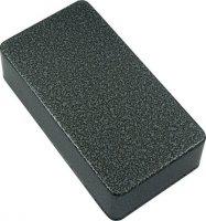 Obudowa czarno-srebrna młotkowa eq1590B