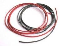 Kabel jednożyłowy Silikonowy 0,5mm2 czarny (linka)