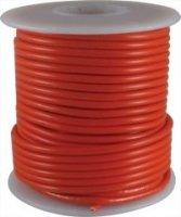 Kabel jednożyłowy czerwony 0,35mm2 Hook-up