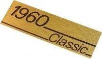 Marshall 1960 Classic plate