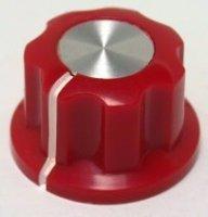 Gałka X4 czerwona (push-on)