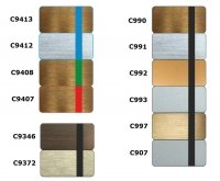 Custom Shop Laser-Grawer - panel/faceplate Metalik