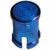 Oprawka LED soczewka niebieska 5mm