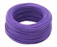 Kabel jednożyłowy fioletowy 1x0,75mm H05