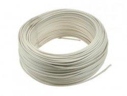 Kabel jednożyłowy biały H05V 1x0,35mm2