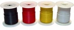 Kabel jednożyłowy czerwony 0,35mm2 RL