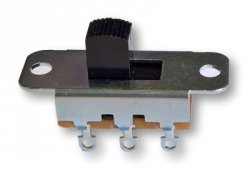 Przełącznik suwakowy 2 pozycje DPDT Switchcraft