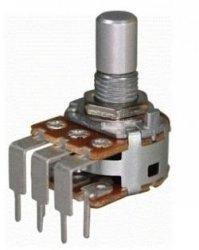Alpha 2x50k/A logarytmiczny stereo PCB-V