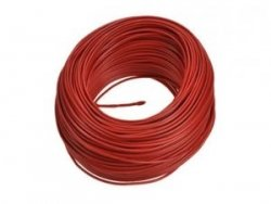 Kabel jednożyłowy czerwony H05V 1x0,35mm2