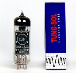 EL84 Tung-Sol Platinum Matched para