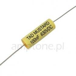 Kondensator TAD Mustard 100nF 630V