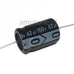 Kondensator 47uF 160V, osiowy