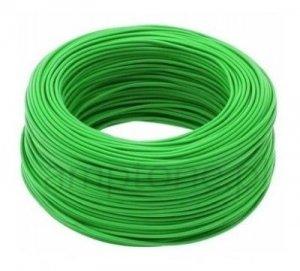 Kabel jednożyłowy zielony 1x0,75mm H05