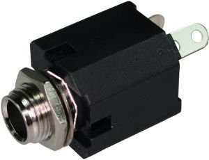 Gniazdo Jack 6,3mm mono Amphenol MVS