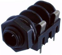 Gniazdo Jack 6,3mm Mono, NMJ4HFD2