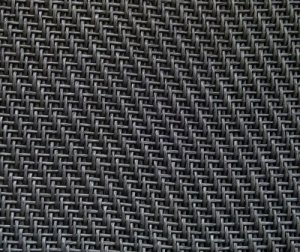 Grill Cloth Small Weave Black (Mesa)