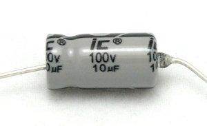 Kondensator 100uF 25V osiowy Illinois