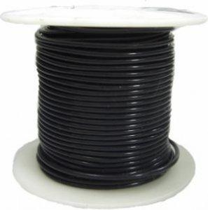 Kabel jednożyłowy Teflon 0,82mm2 czarny