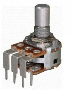Alpha 2x1M/B liniowy stereo PCB-V