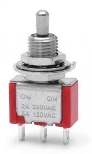Przełącznik dźwigniowy SPDT M102 mini Short