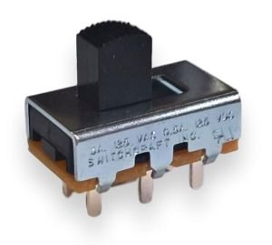 Przełącznik suwakowy PCB 2 pozycje DPDT Switchcraft