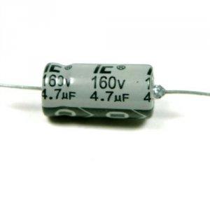 Kondensator 4,7uF 100V osiowy Illinois