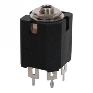 Gniazdo Jack 3,5mm stereo Amphenol