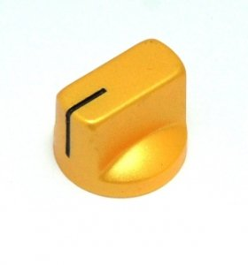 Gałka styl Fulltone, gold