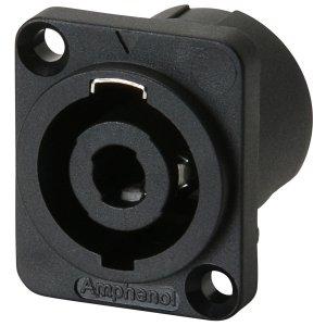 Gniazdo głośnikowe Speakon 4pin Amphenol SP-4-MD