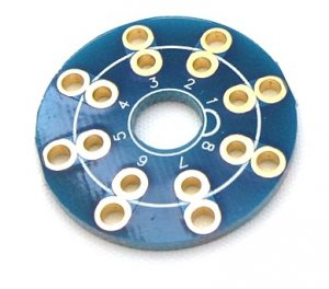 Adapter PCB Octal 8pin board